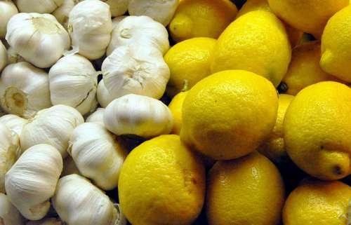 Alho e limão no controle do colesterol