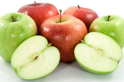 Fibras da maçã servem como laxante natural.