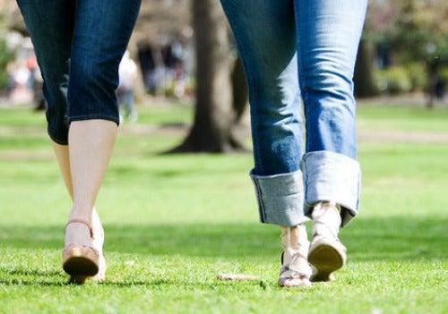 Caminhar para aliviar a dor ciática
