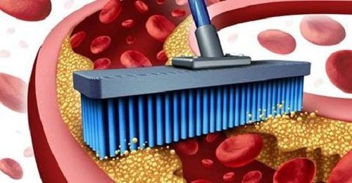 O romã limpa as artérias