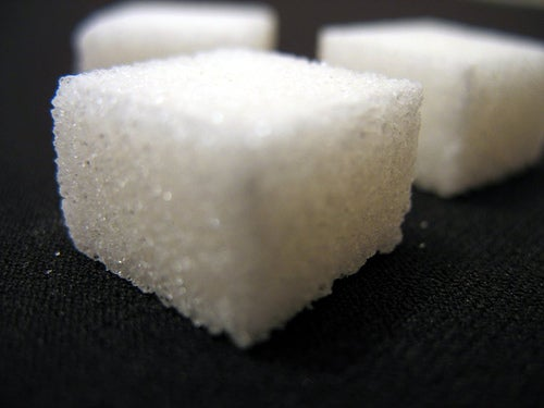 Um bolo sem açúcar