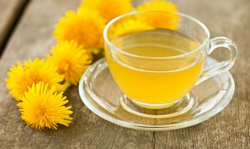 Chá de dente de leão para limpar os rins