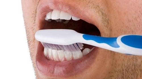 Escovar os dentes para evitar a forte dor de dente