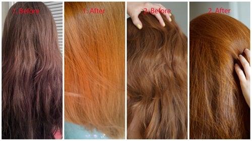 Clarear o cabelo:3 truques simples. Experimente!