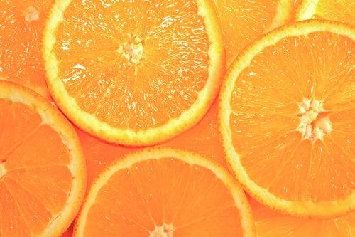 Cores laranja