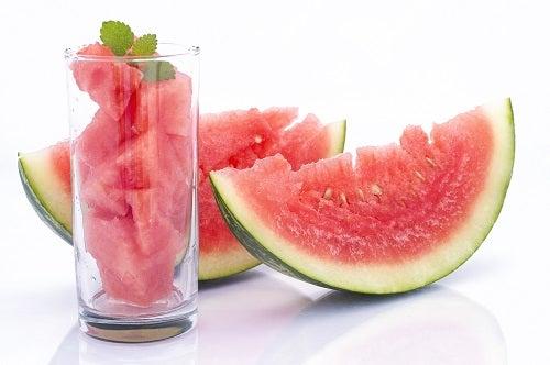 A melancia pode ajudar a limpar os rins