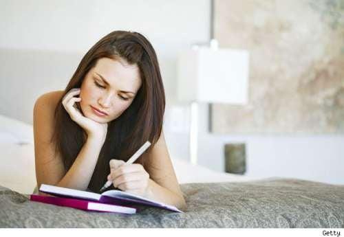 Escrever ajuda a relaxar a mente