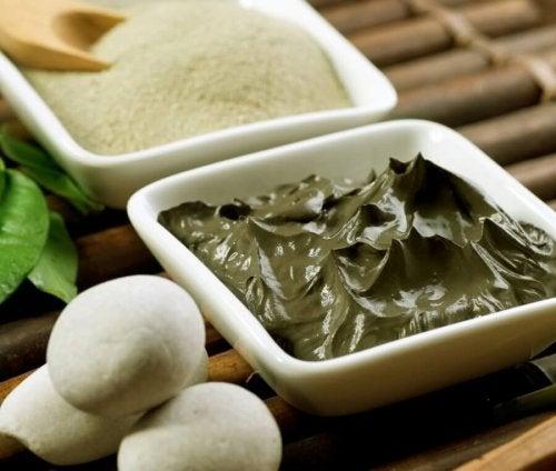 A argila verde é um dos melhores esfoliantes para a pele