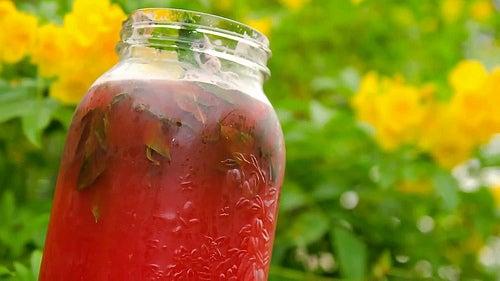 Suco de melância e menta para emagrecer