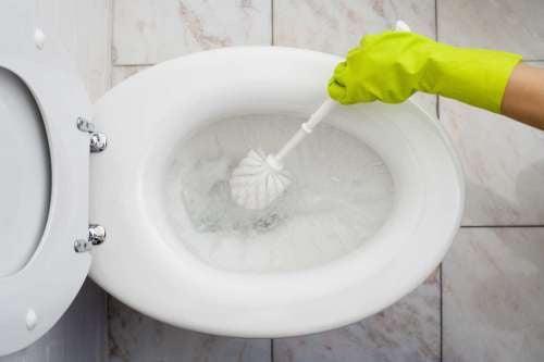 limpar o banheiro