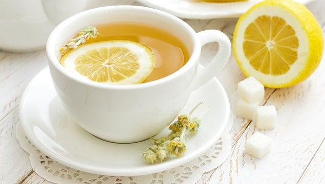chá de casca de limão