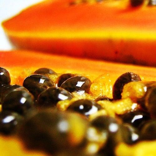 Comer sementes de mamão
