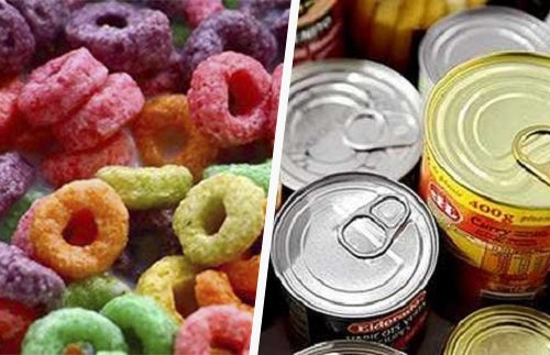 Os 12 tóxicos mais temidos em alimentos processados