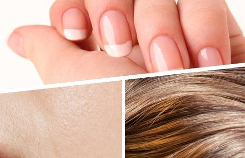 Vitaminas para fortalecer cabelo, pele e unhas
