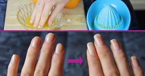 Tratamento com azeite de oliva para fortalecer as unhas