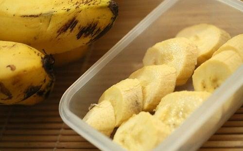 Preparar batidas de banana