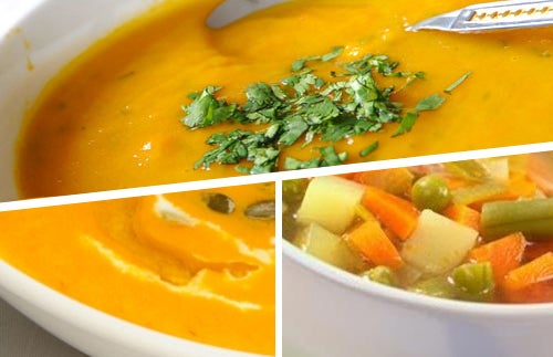 Sopas de verduras que ajudam a emagrecer
