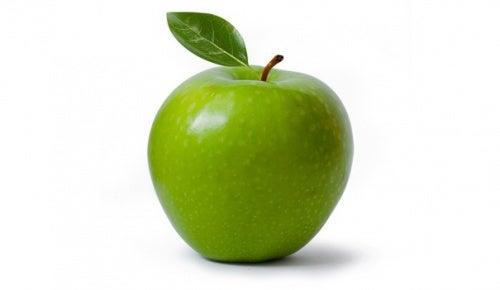 maçã verde na dieta para barriga chapada