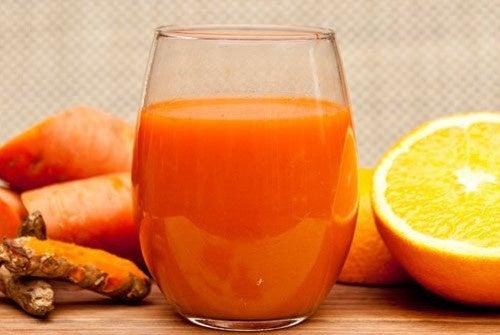 Suco antioxidante para reduzir a inflamação