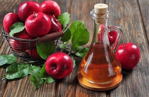 Vinagre de maçã para o condicionador natural