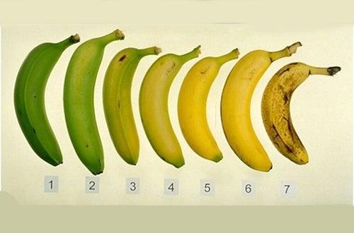 É mais saudável comer a banana quando ela está madura ou verde?