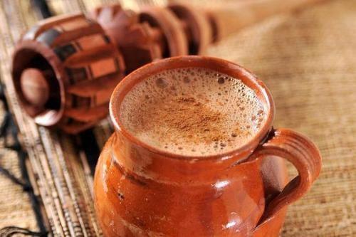 Chocolate fonte de energia no café da manhã