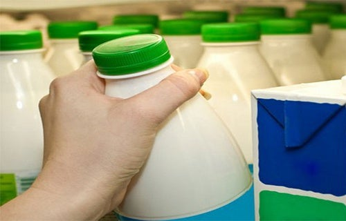 leite com baixo teor de gordura