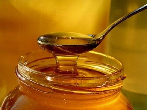 mel e cebolas contra o resfriado