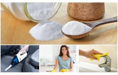6 usos curiosos e práticos do bicarbonato de sódio em seu lar