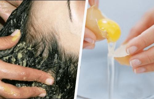 Descubra como lavar o cabelo com gema de ovo