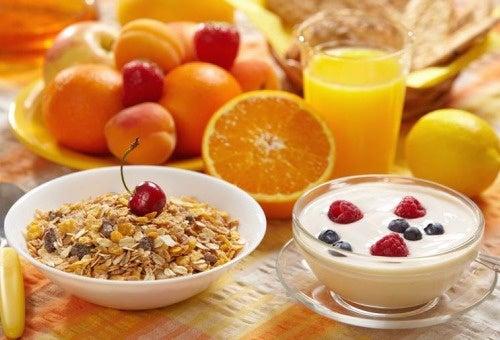 Alimentação saudável para reduzir o formigamento
