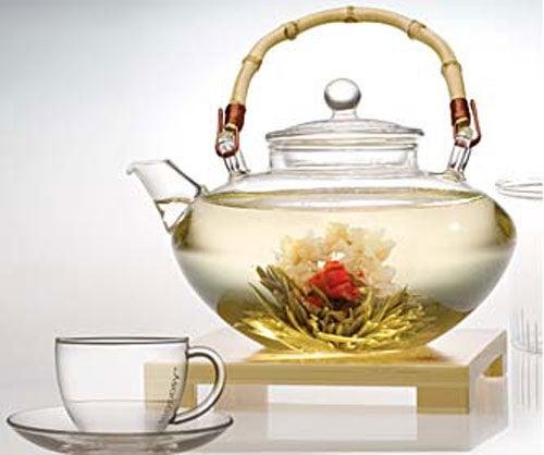 Chá branco rico em magnésio