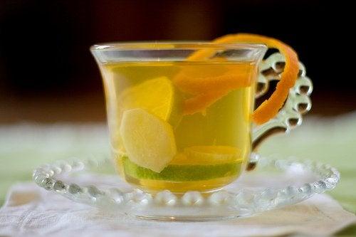 Como preparar o chá de gengibre