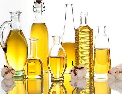 Ovo e óleos vegetais para o cabelo
