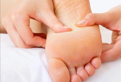 os calos nos pés