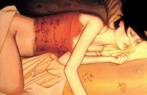 O prazer que experimentamos entre os sonhos eróticos