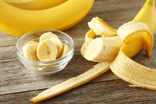 Banana no café da manhã