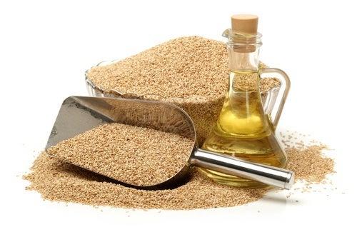 O óleo de gergelim é um dos melhores óleos de cozinha