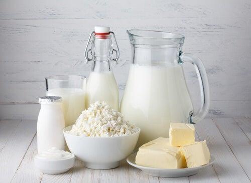 Lacticínios para a osteoporose