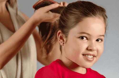 Conselhos para que o cabelo dos seus filhos cresça forte e bonito