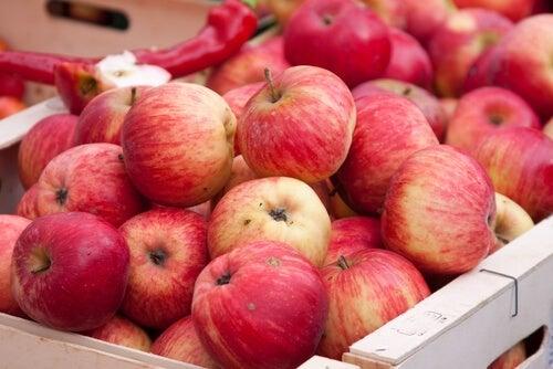 maçãs são ótimas Frutas anti-inflamatórias