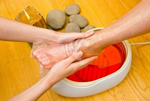 Tratamento de parafina pra calcanhar rachado