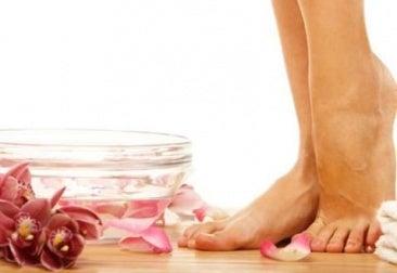 pés femininos