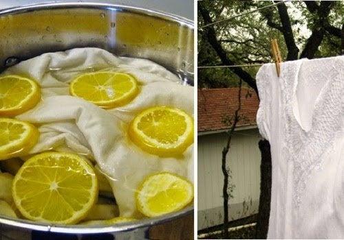 Como branquear as roupas sem cloro: 5 soluções naturais