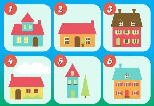 A casa dos seus sonhos: escolha entre as 6 e descubra o que significa