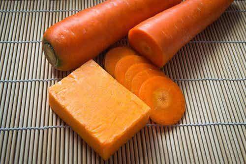 Como preparar um sabonete de cenoura
