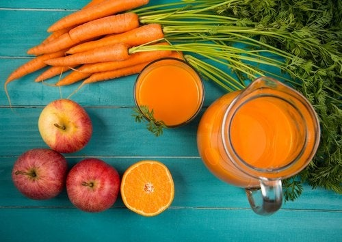 suco-cenoura-pele-radiante