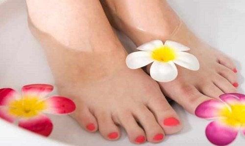 Como exibir pés perfeitos em pouco tempo