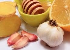Alho, gengibre e mel para tratar 8 doenças comuns
