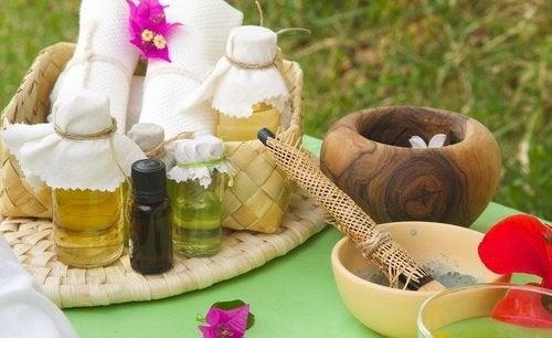 Óleos naturais para reativar o crescimento dos cabelos